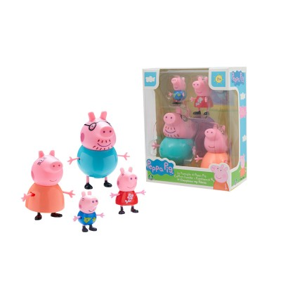SET 4 PERSONAGGI PEPPA PIG