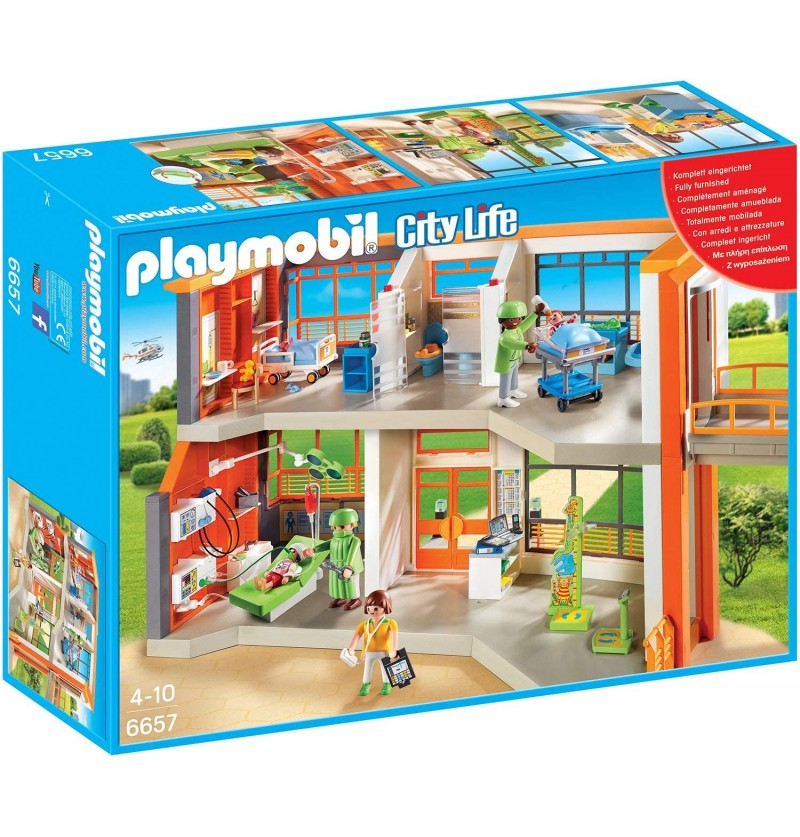 OSPEDALE PLAYMOBIL