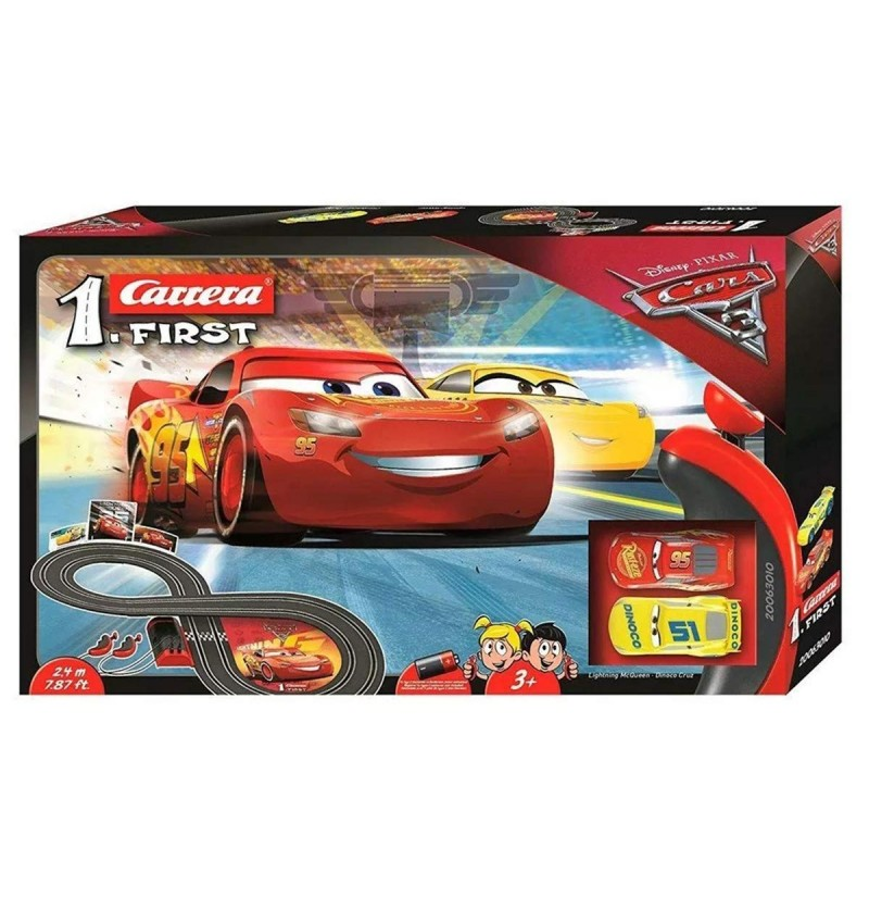 PISTA DISNEY CARS CARRERA