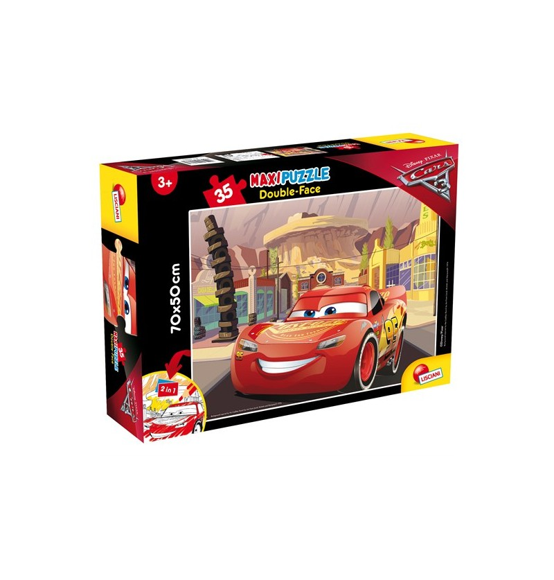 PUZZLE DF SUPERMAXI 35 CARS...