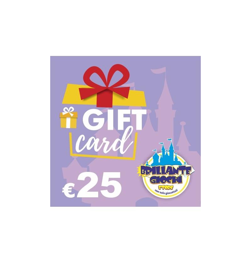 GiftCard da 25€