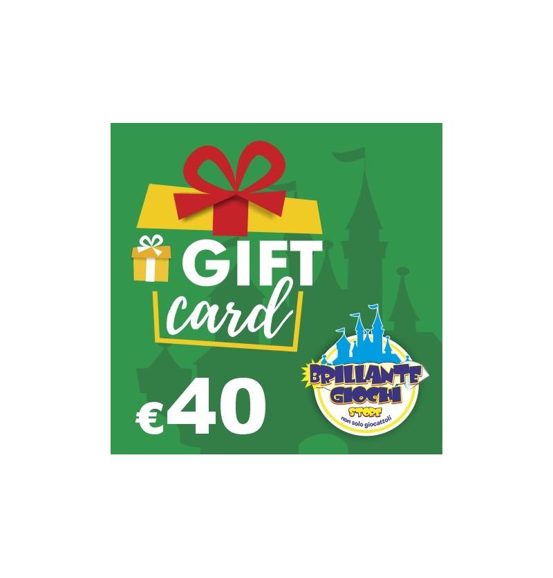 GiftCard da 40€