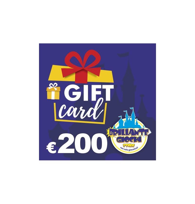 GiftCard da 200€