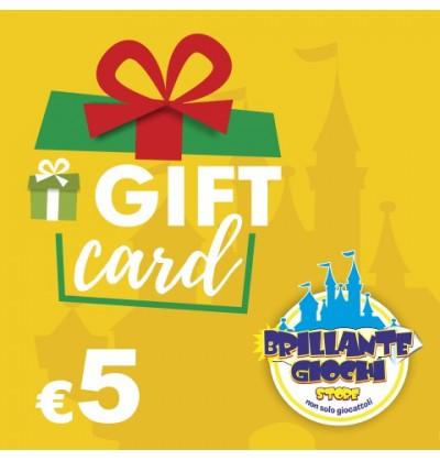 GiftCard da 5€