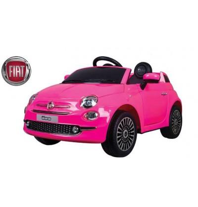 FIAT 500 12 VOLT ROSA
