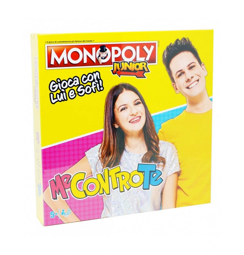 MONOPOLY JUNIOR ME CONTRO TE