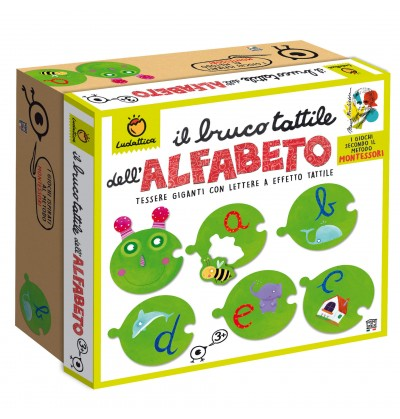 Il BRUCO TATTILE DELL'ALFABETO