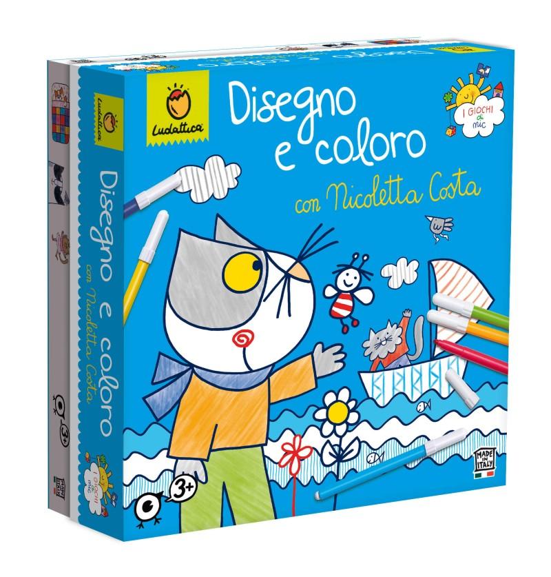 DISEGNO E COLORO CON...
