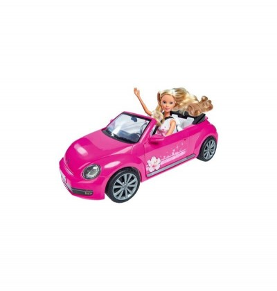STEFFI CON AUTO VW BEETLE