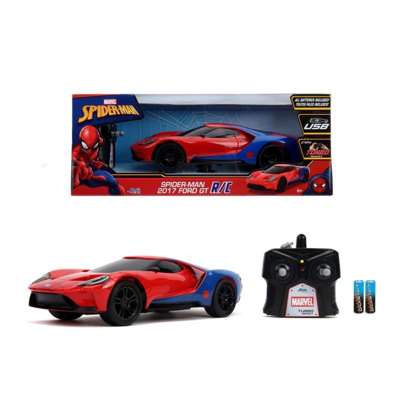 Auto Marvel Rc Spiderman...