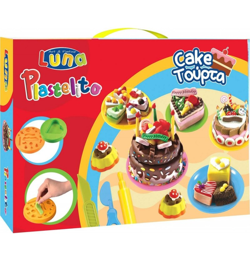 PLASTILINA CREA TORTE