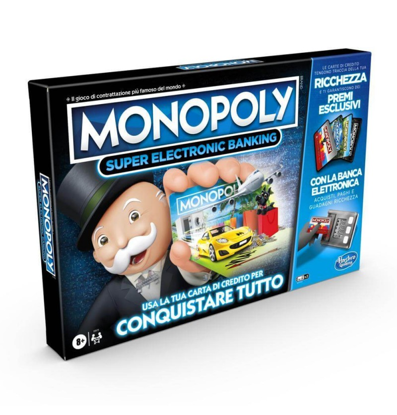 MONOPOLY SUPER ELECTRONIC...
