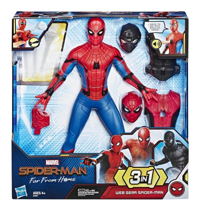 SPIDERMAN 3 IN 1- FAR FROM...