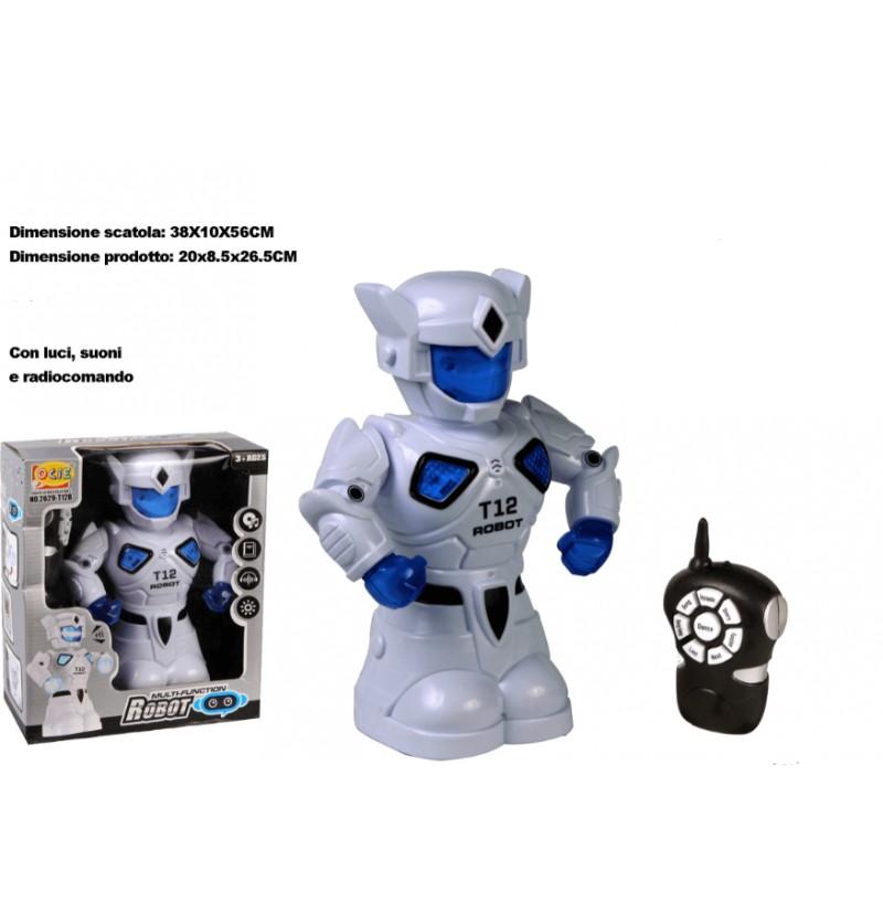 ROBOT CON RADIOCOMANDO