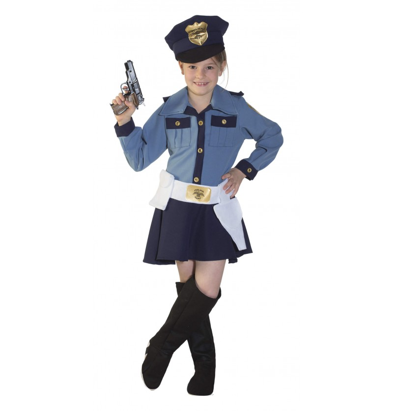 COSTUME POLICE GIRL