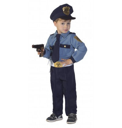 COSTUME BABY POLICEMAN