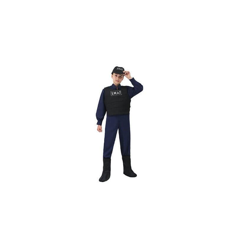 COSTUME AGENTE SWAT