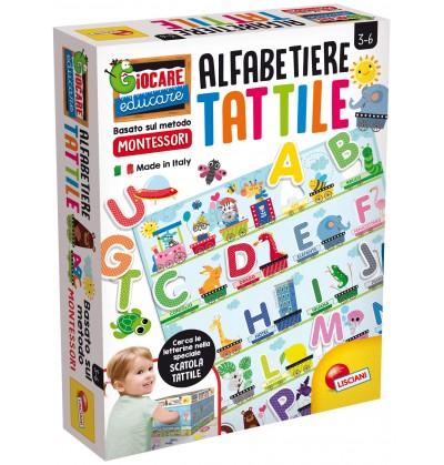 ALFABETIERE TATTILE MONTESSORI