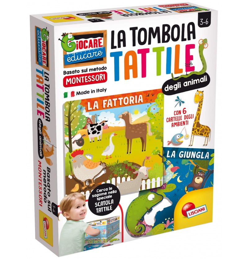 LA TOMBOLA TATTILE MONTESSORI