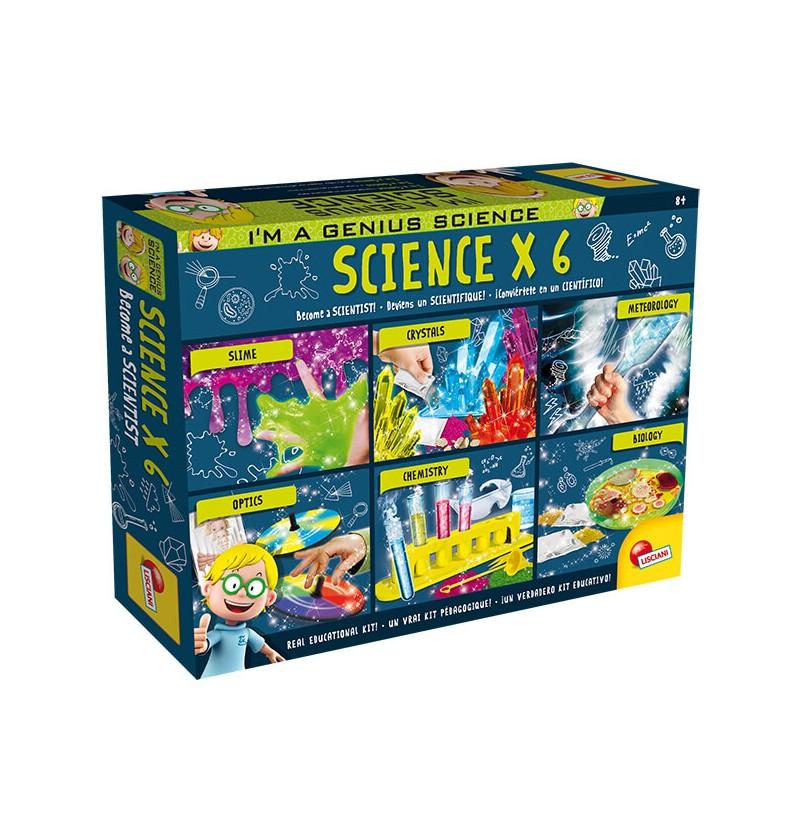SCIENCE X 6