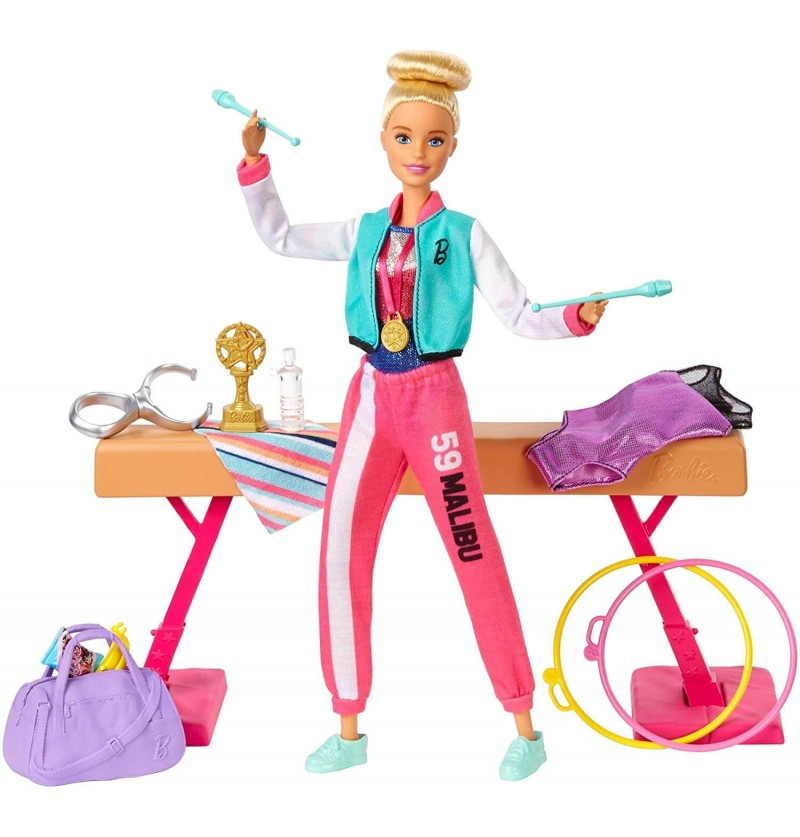 Barbie Ginnasta Playset