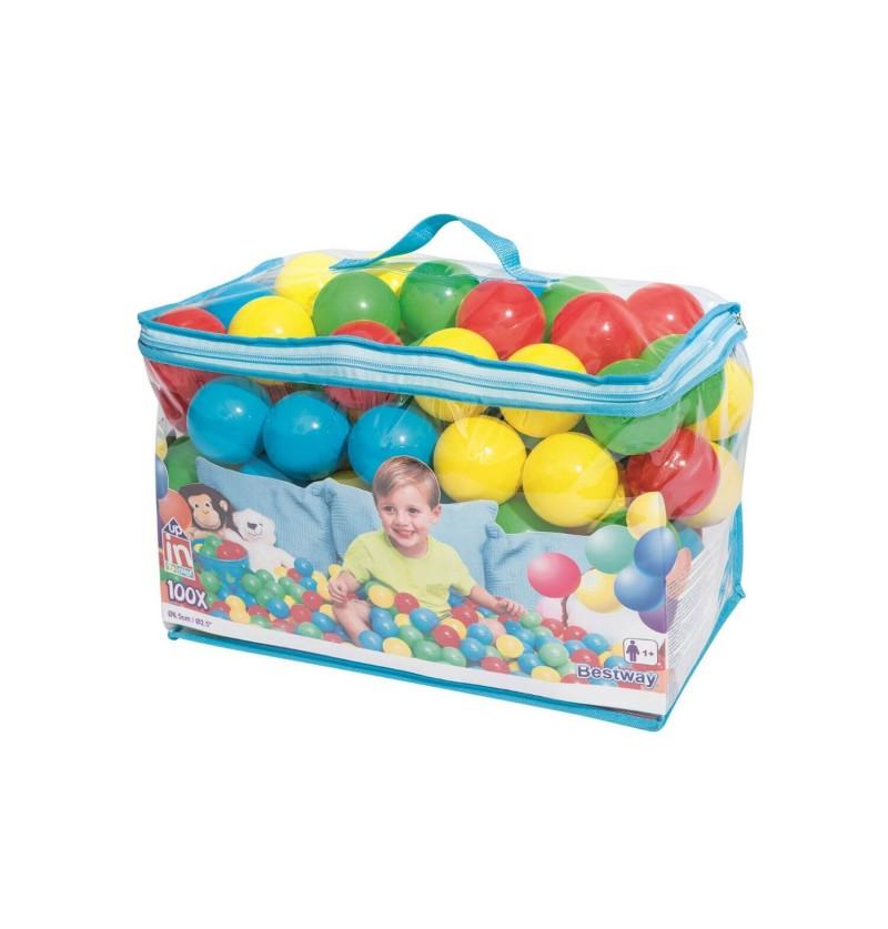 Box 100 palline colorate