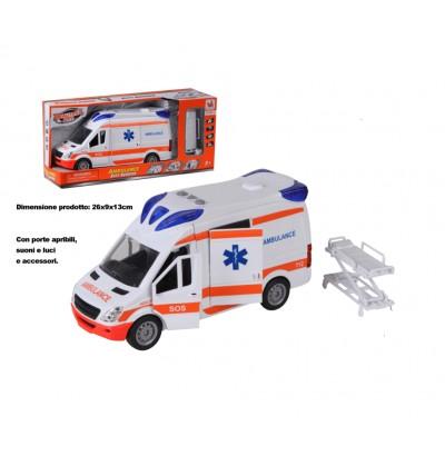 Ambulanza luci e suoni
