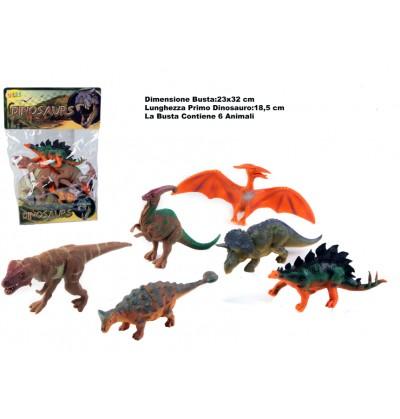 Busta Dinosauri Assortiti