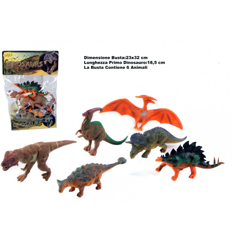 Busta Dinosauri Assortiti