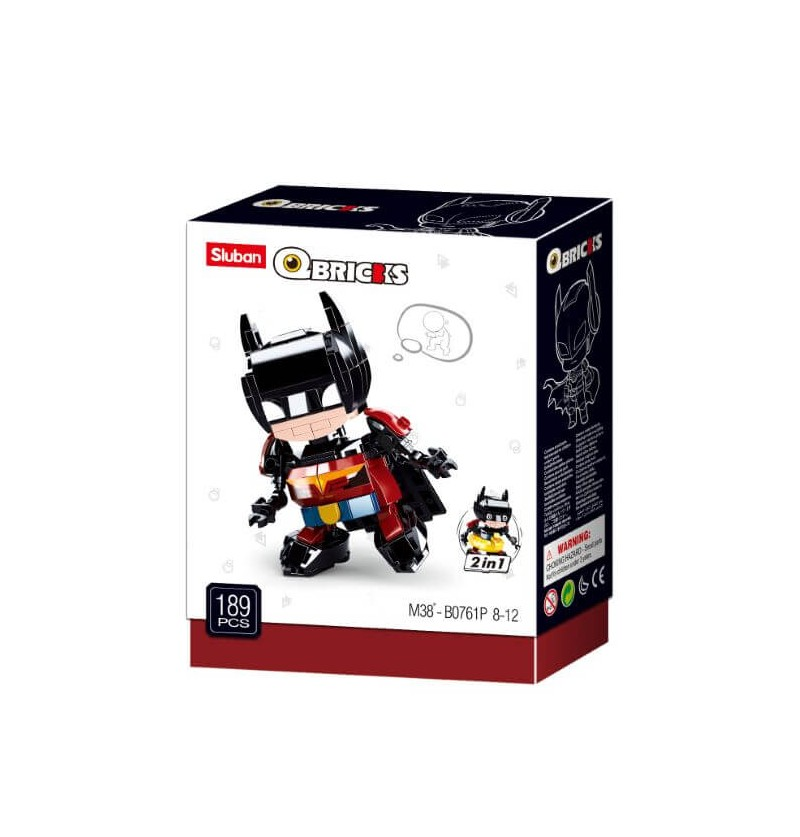 Q-Bricks Bat 2 in 1
