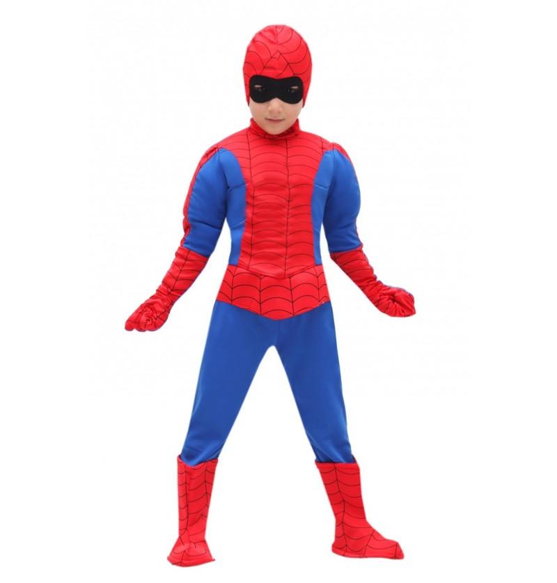 Costume uomo ragno baby