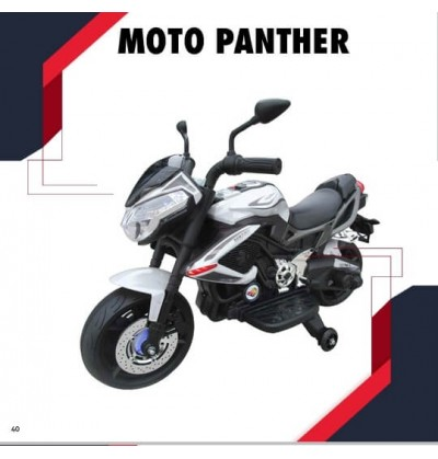 Moto Panther12 volt Rossa
