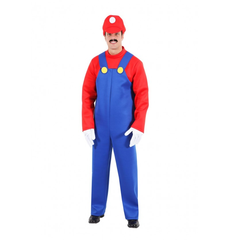 Costume adulto Mario