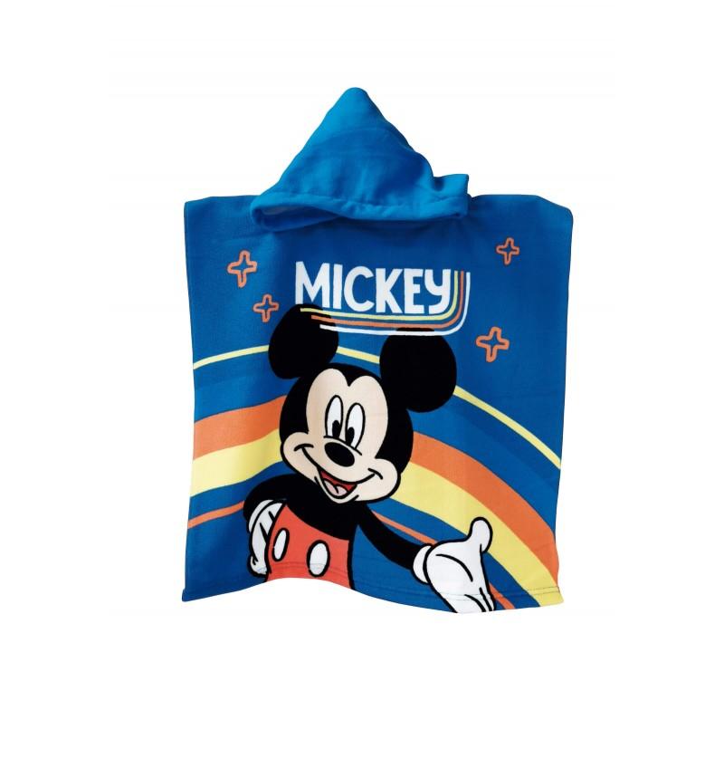 Poncho Mickey 55x110