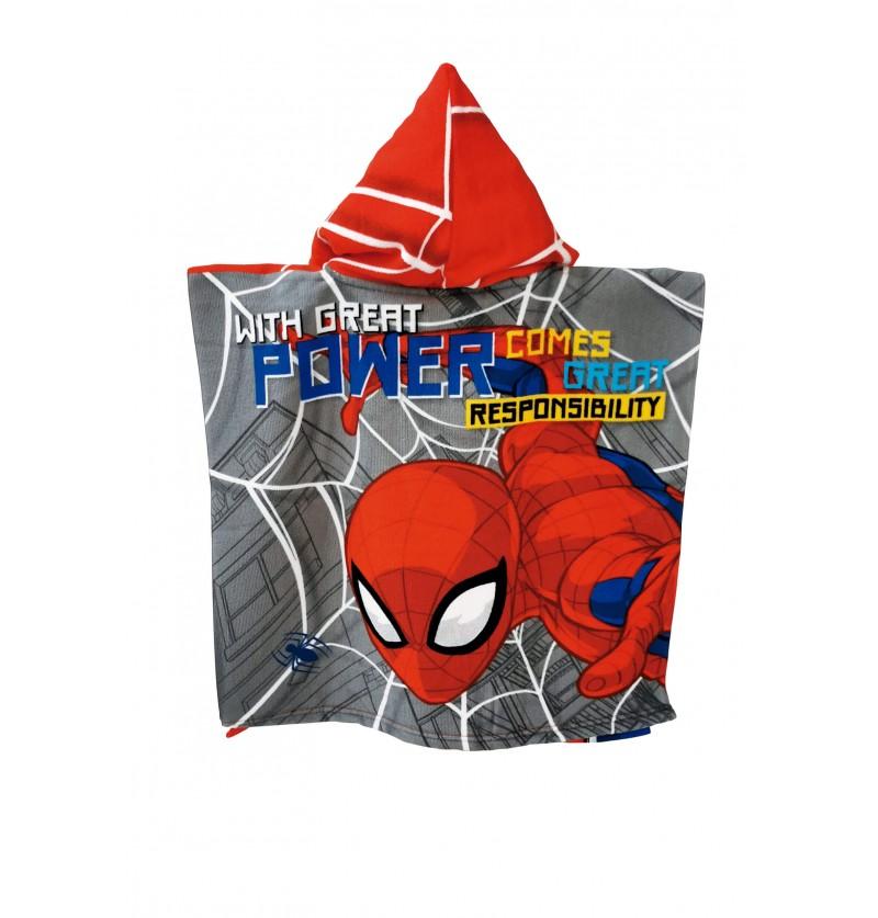 Poncho Mare Spiderman