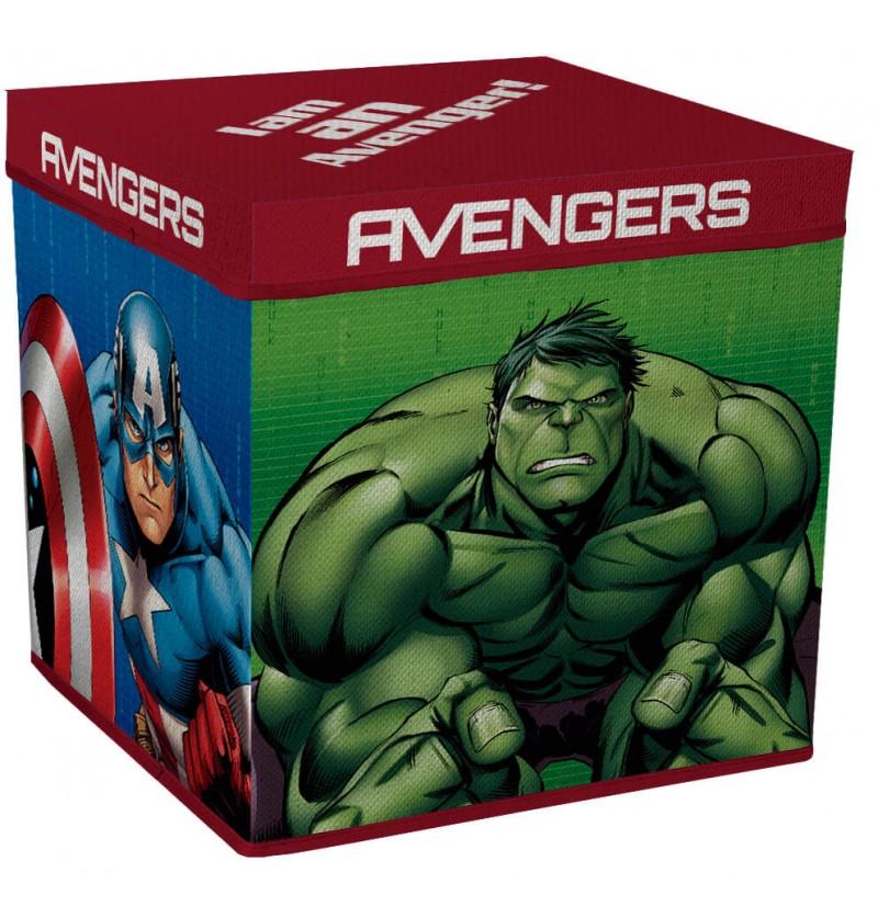 Scatola Portagiochi Avengers