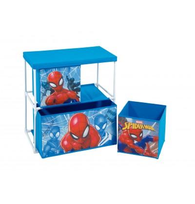 Box Portagiochi Spiderman