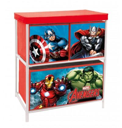 Box Portagiochi Avengers