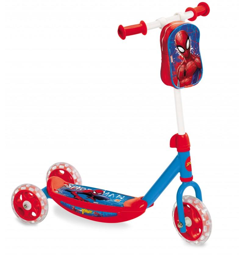 Monopattino 3 ruote Spiderman