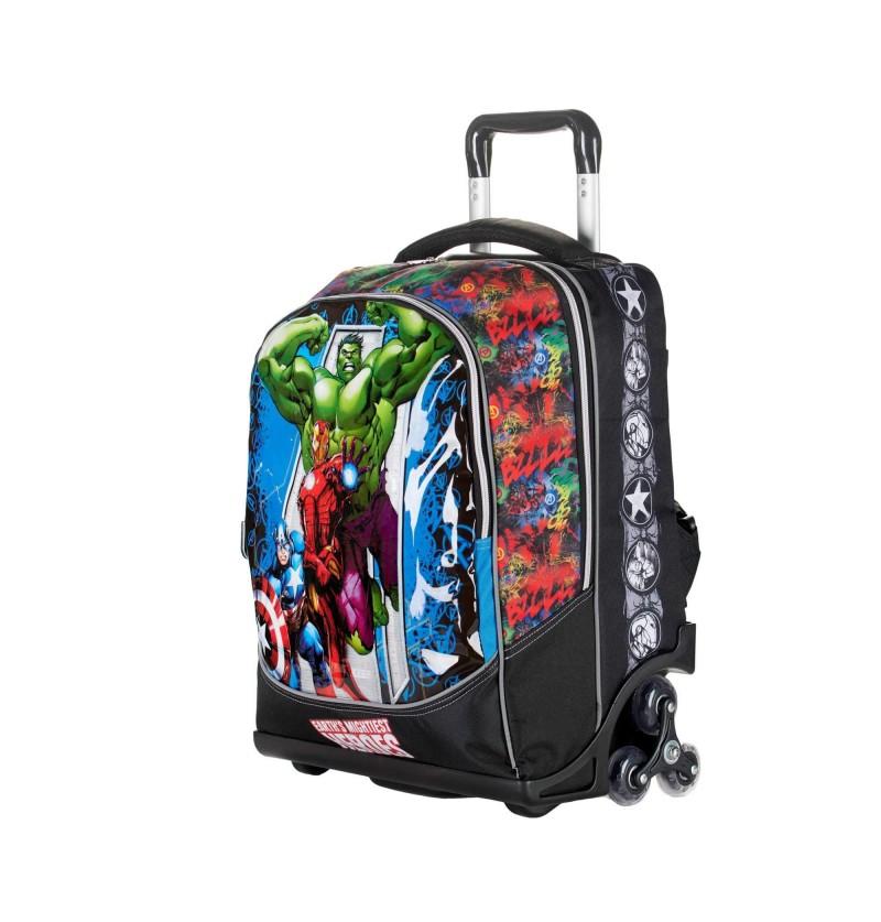 Zaino Scuola Trolley Avengers