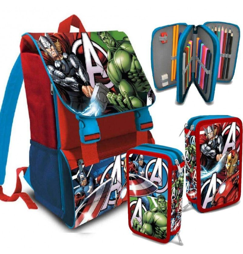 School Pack Avengers