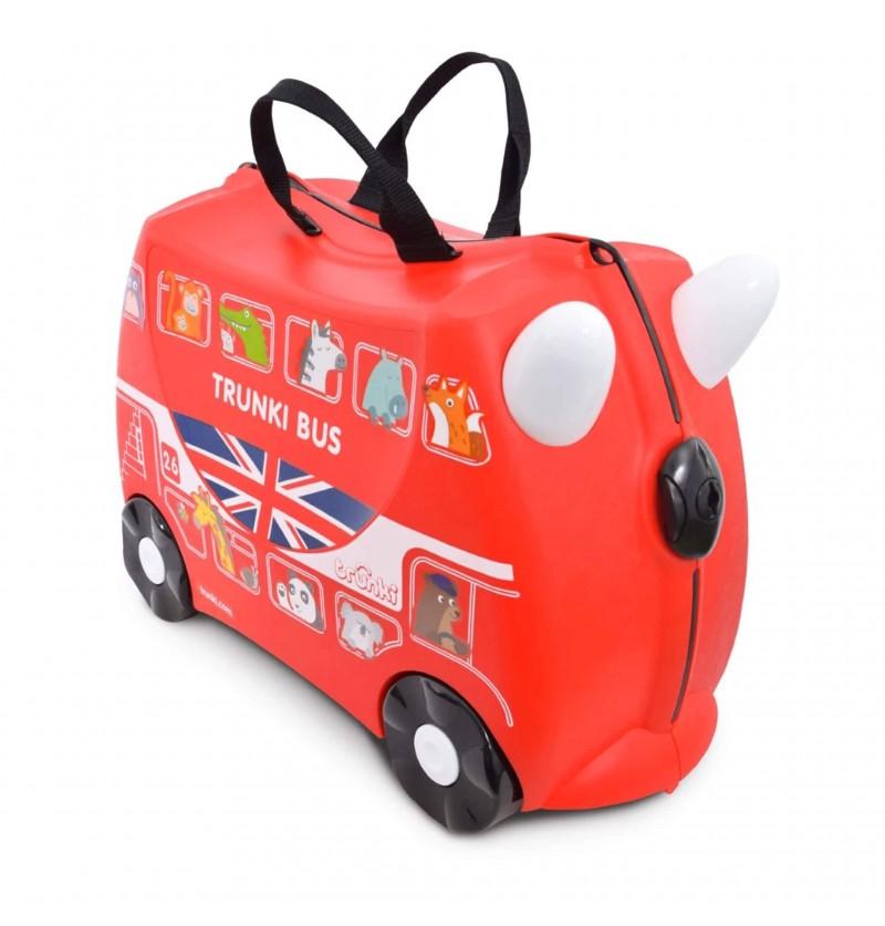 Valigia Boris London Bus Red