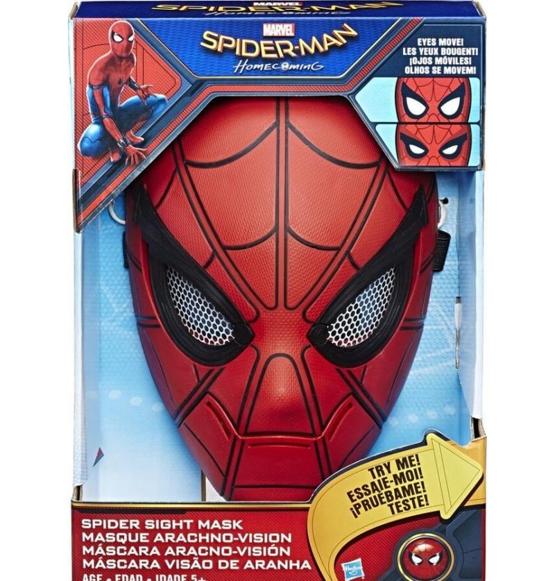 Maschera Spiderman Elettronica