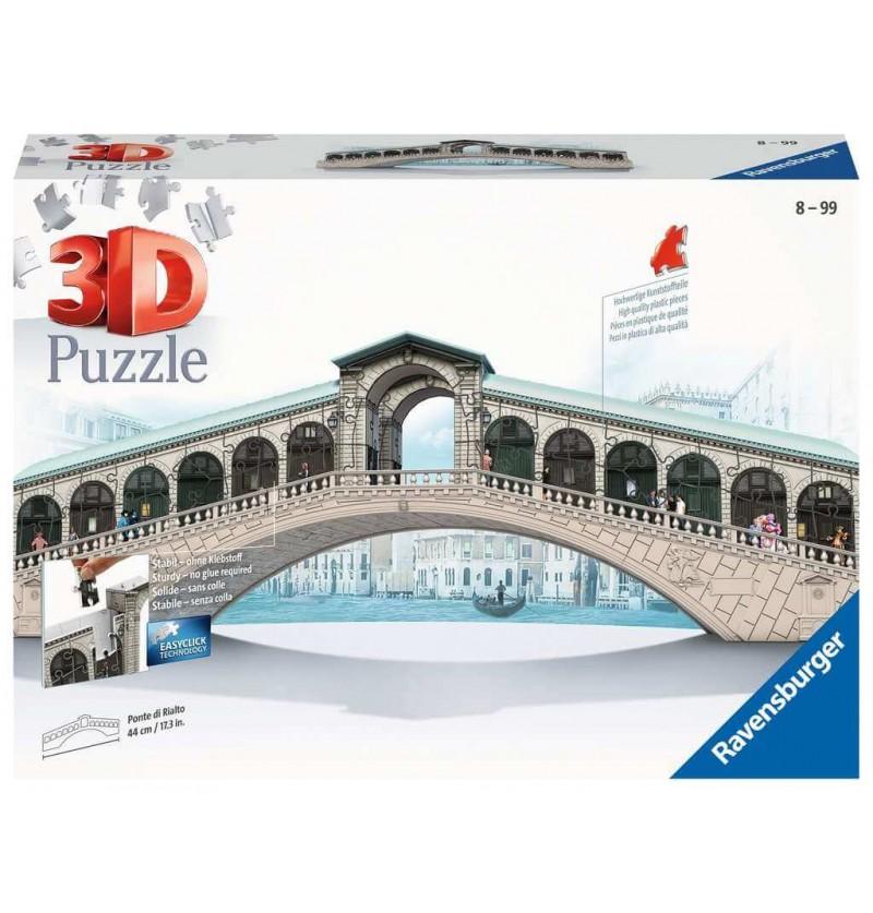 Ponte di Rialto - Puzzle 3d