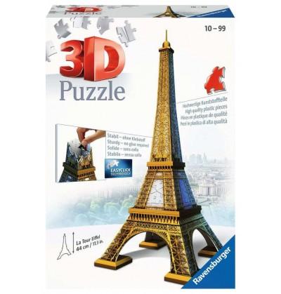Torre Eiffel - Puzzle 3d
