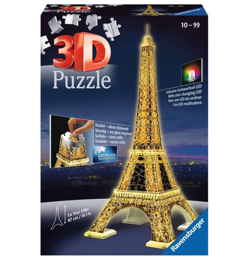 Torre Eiffel - Puzzle 3d -...
