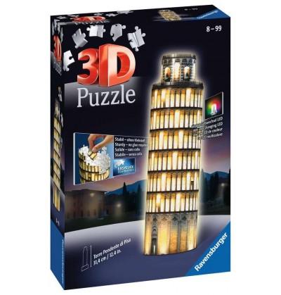 Torre di Pisa - Puzzle 3d -...