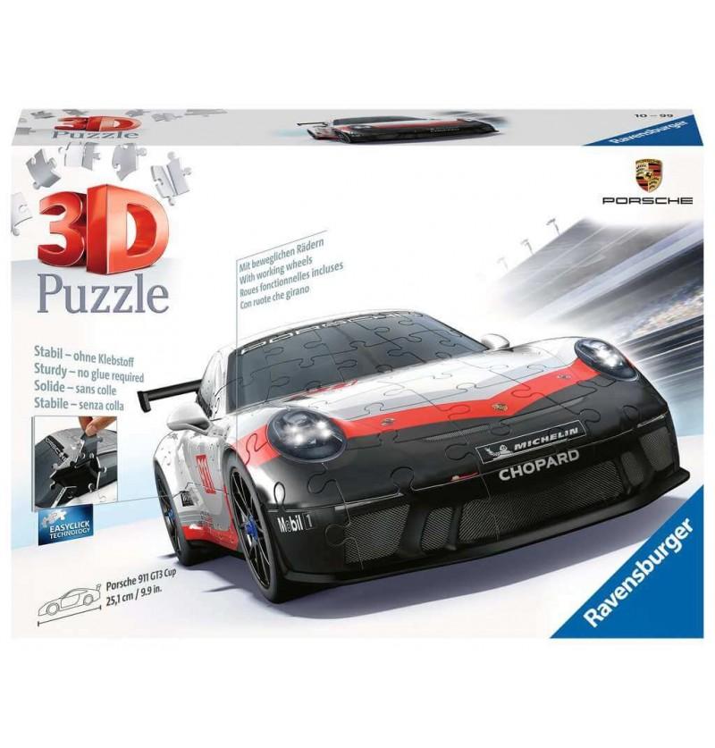Porche 911 GT3 Cup - Puzzle 3d