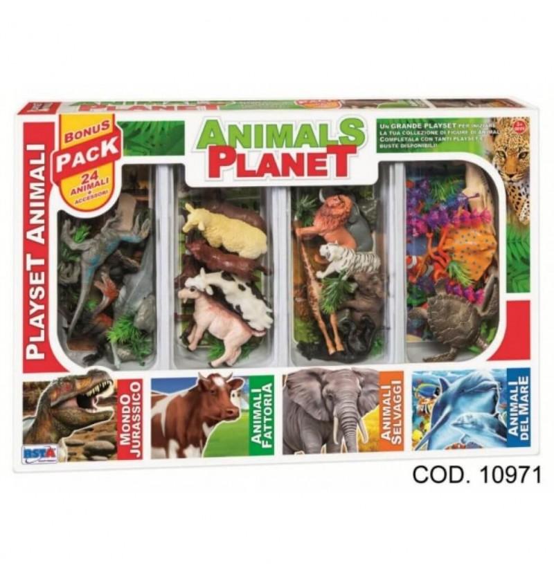 Playset Animali del mondo