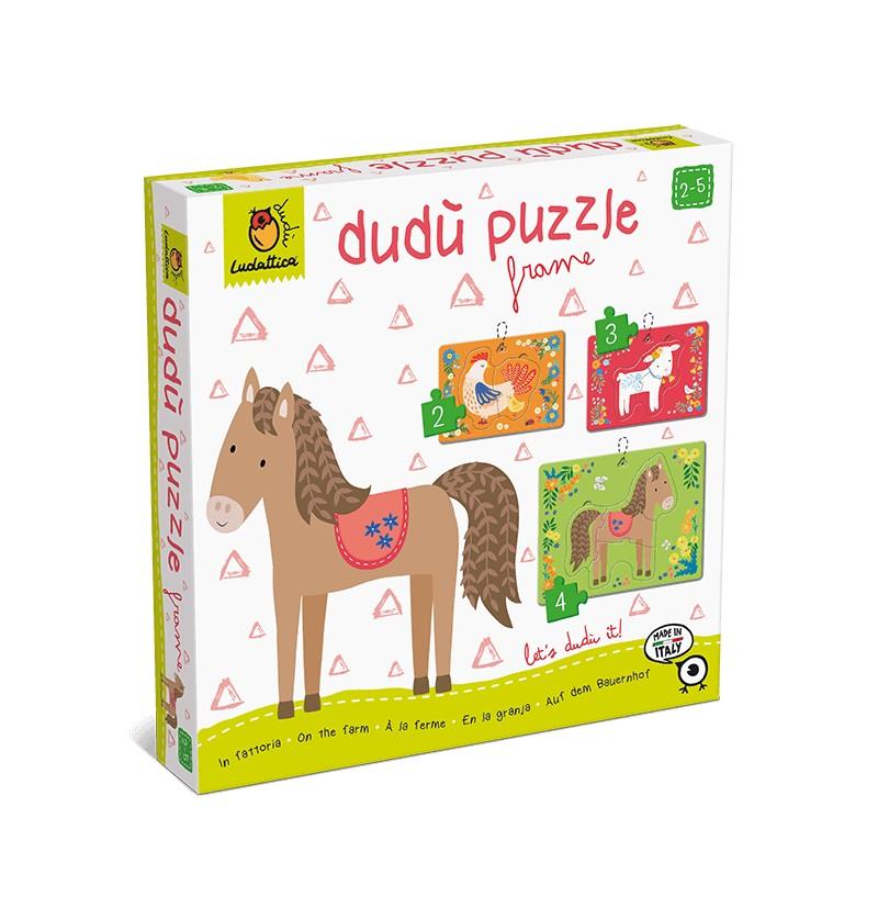 Dudù Puzzle Frame in Fattoria